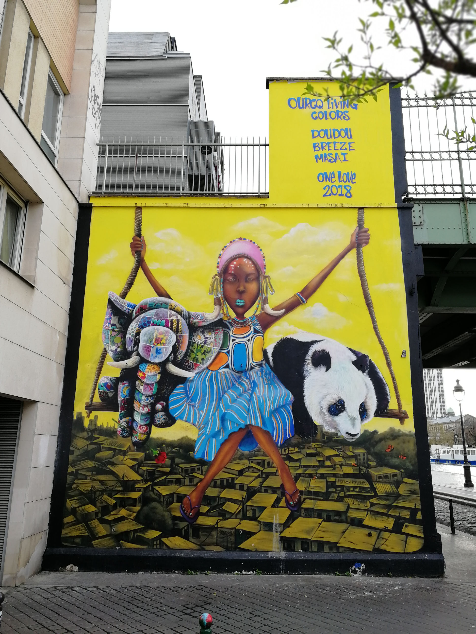 Ourcq Living Colors 2018, Doudou Style, Breeze et Masaï