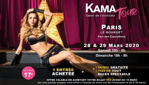 Salon du X, erotisme au Bourget 2020 - Kamatour