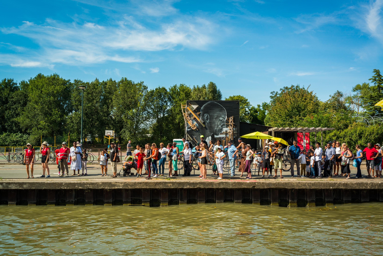 Eté du canal 2018 Croisière street art