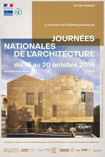 """Résultat de recherche d'images pour """"journées nationales de l'architecture 2019"""""""
