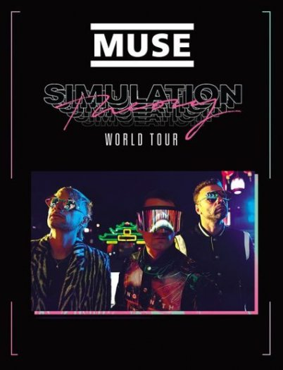 Muse au stade de France en 2019 - Simulation Tour