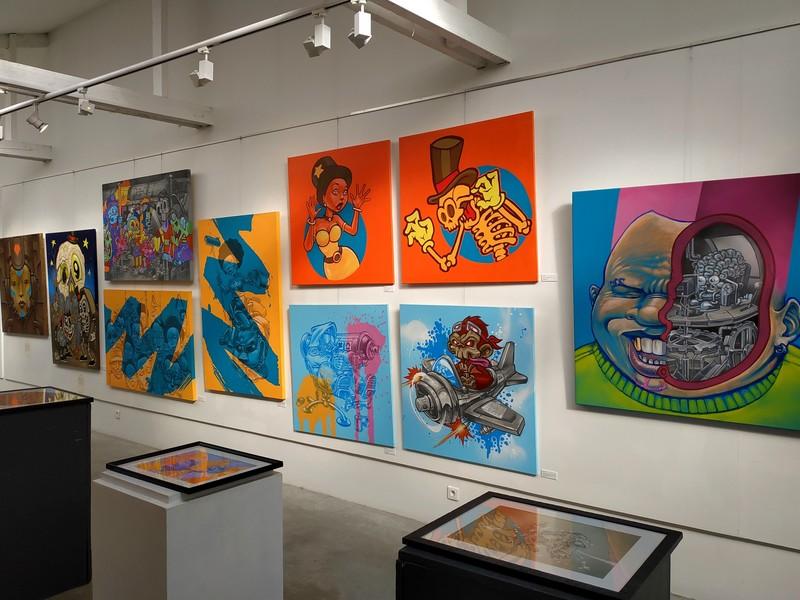 Rétrospective Manufacture 111 galerie Amarrage 2019