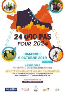 24000 pas pour 2024 - animation rando et sport