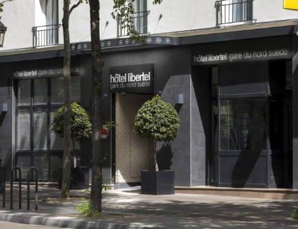 Hôtel Libertel Paris Gare du nord - accueil