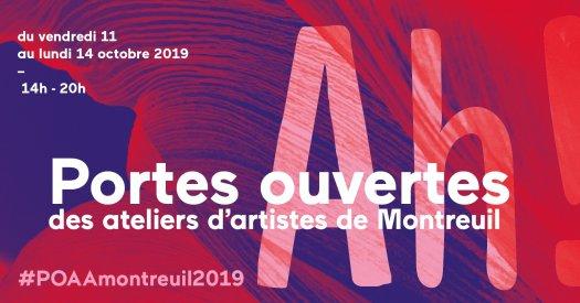Portes ouvertes ateliers d'artistes Montreuil 2019