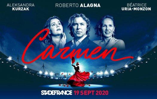 Carmen au Stade de France 2020 - affiche