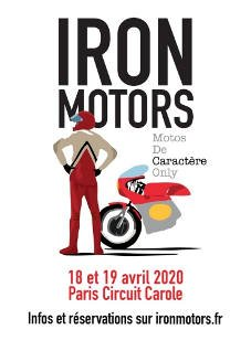 Iron Motors avril 2020 - circuit carole Tremblay