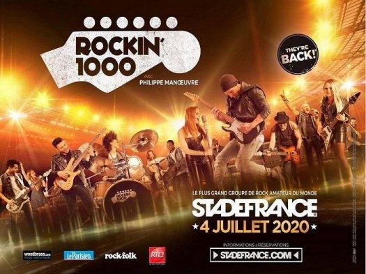 Rock'In 1000 au Stade de France - Affiche