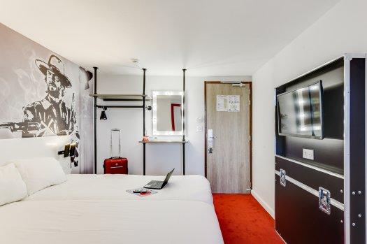 Chambre de l'hôtel Ibis Style la Plaine Saint-Denis