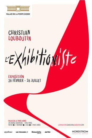 Exposition Christian Louboutin - affiche 2020