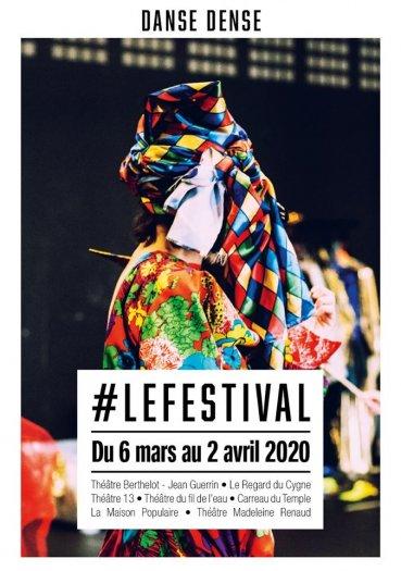 Festival Danse Dense mars avril 2020