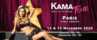 Salon de l'érotisme - kamatour Paris le Bourget - nov 2020
