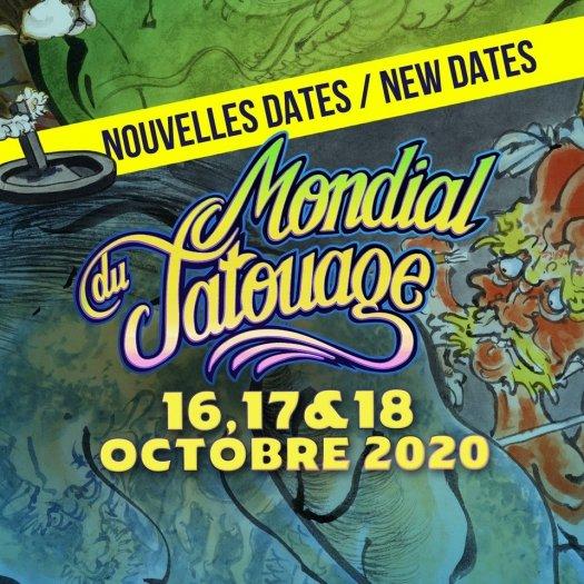Mondial Du Tatouage Paris 2020 Grande Halle De La Villette