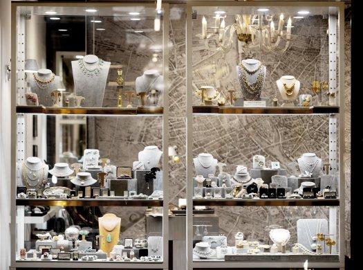 Stéphanie Corvez jewellery shop © Inu studio