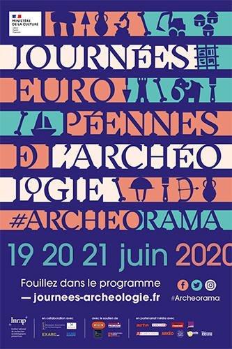 Journées européennes de l'archéologie - 2020 @inrap