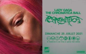 Lady Gaga en concert au Stade de France - juillet 2021