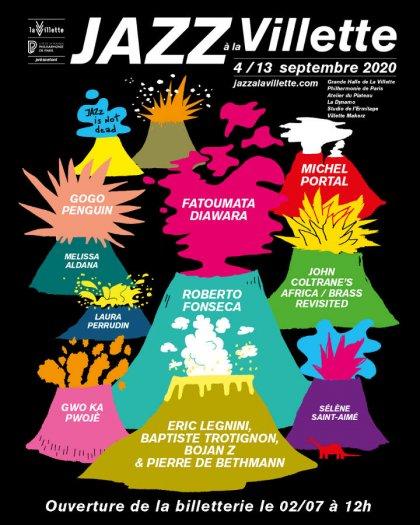 Jazz à la Villette 2020 - affiche