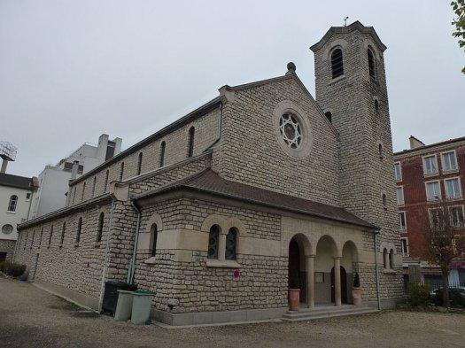 Eglise du sacré-Coeur à Saint-Ouen