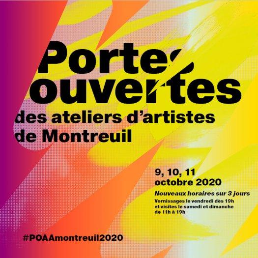 Portes ouvertes ateliers d'artistes de Montreuil inscriptions