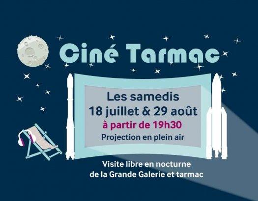 Ciné tarmac Musée de l'air