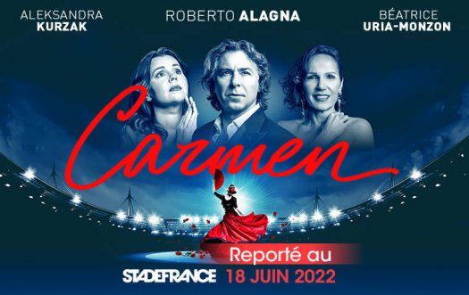 Carmen opéra au Stade de France - juin 2022