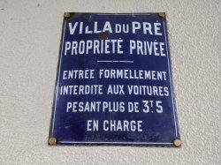 Villa du Pré Saint Gervais