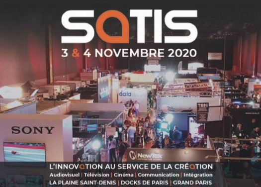 Satis Screen4All 2020 - salon pro aux Docks