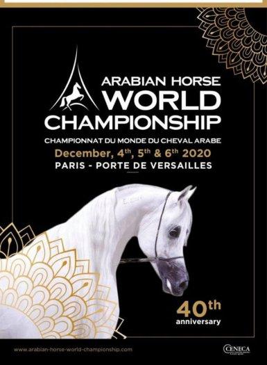 Championnat du monde du cheval arabe 2020 - porte de Versailles