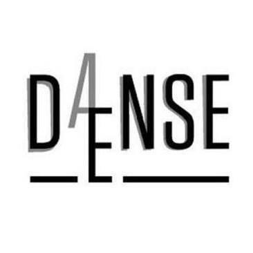 Danse Dense - visuel Noir et Blanc  - festival