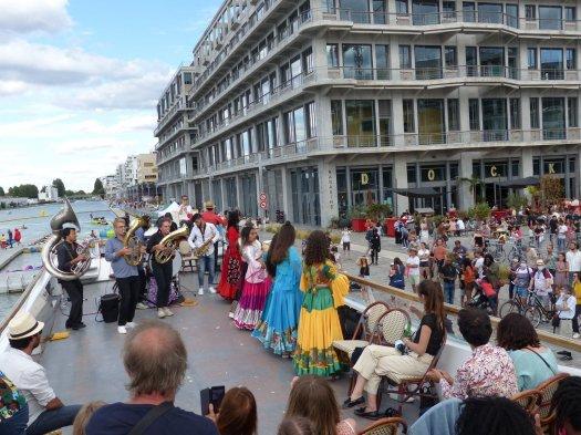 Concert flottant Haidouti Eté du Canal 2020