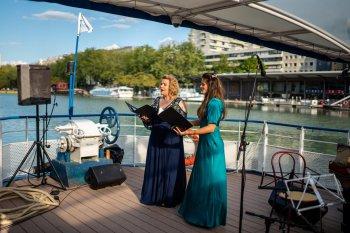 Concert flottant Jaroussky