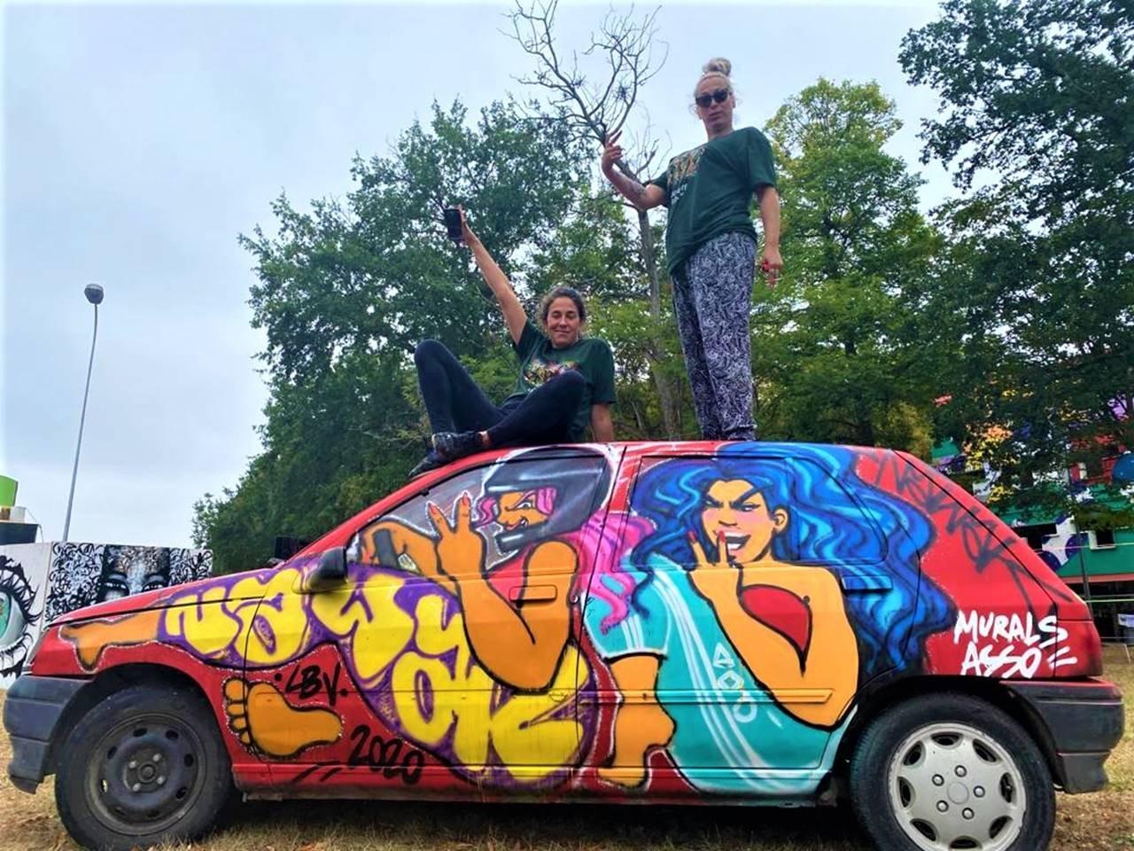 Nawk street-artiste, association MURALS