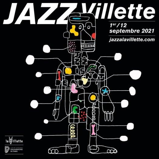 Jazz à la Villette - 2021 - affiche Visuel : Hartland Villa