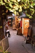 Alleyways in the flea market - Puces st Ouen Clignancourt