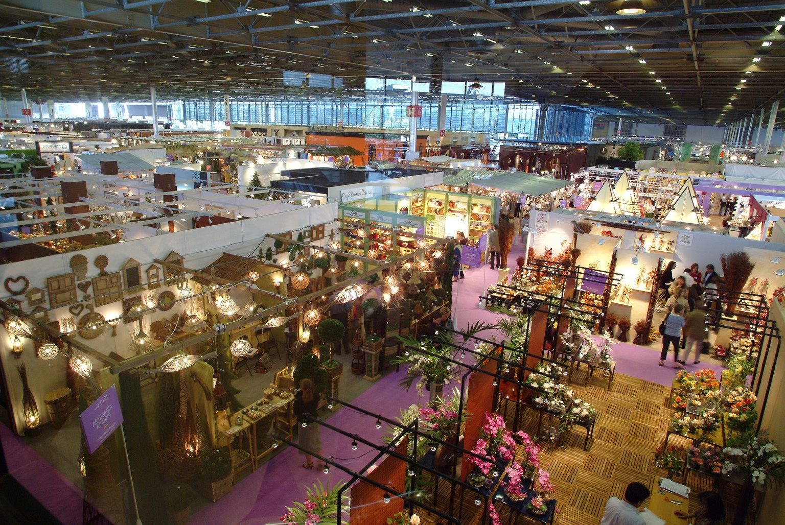 Impact financier des grands salons sur le tourisme paris for Salon de villepinte