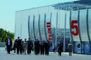 hall 5 du parc des expositions du Bourget