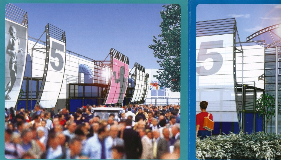 Parc d'expositions Paris Le Bourget