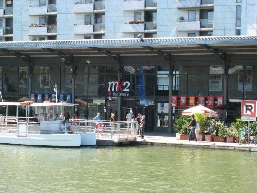 Cinéma MK2 Quai de Seine au bassin de la Villette