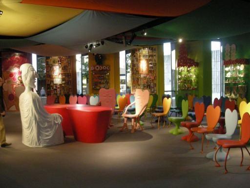 la salle des mariages de bobigny par herv di rosa. Black Bedroom Furniture Sets. Home Design Ideas