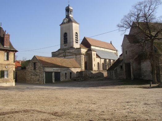 Eglise Saint-Médard à Tremblay-en-France