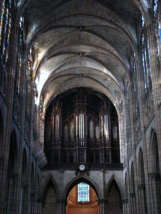 Les orgues de la Basilique Cathédrale de Saint-Denis