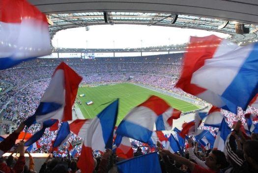 La foule du stade de France