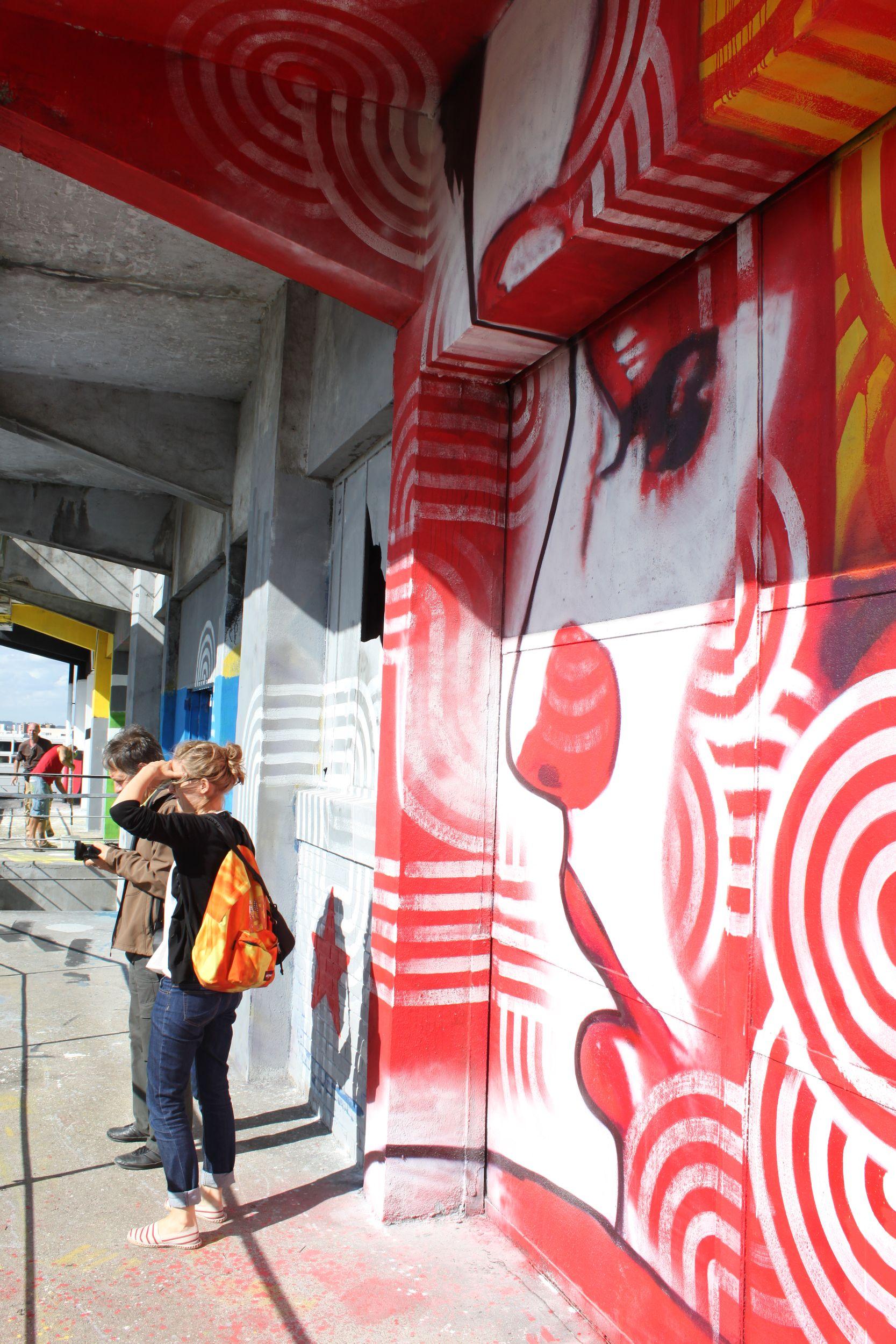 L'été du canal 2012 street art batiment des douanes
