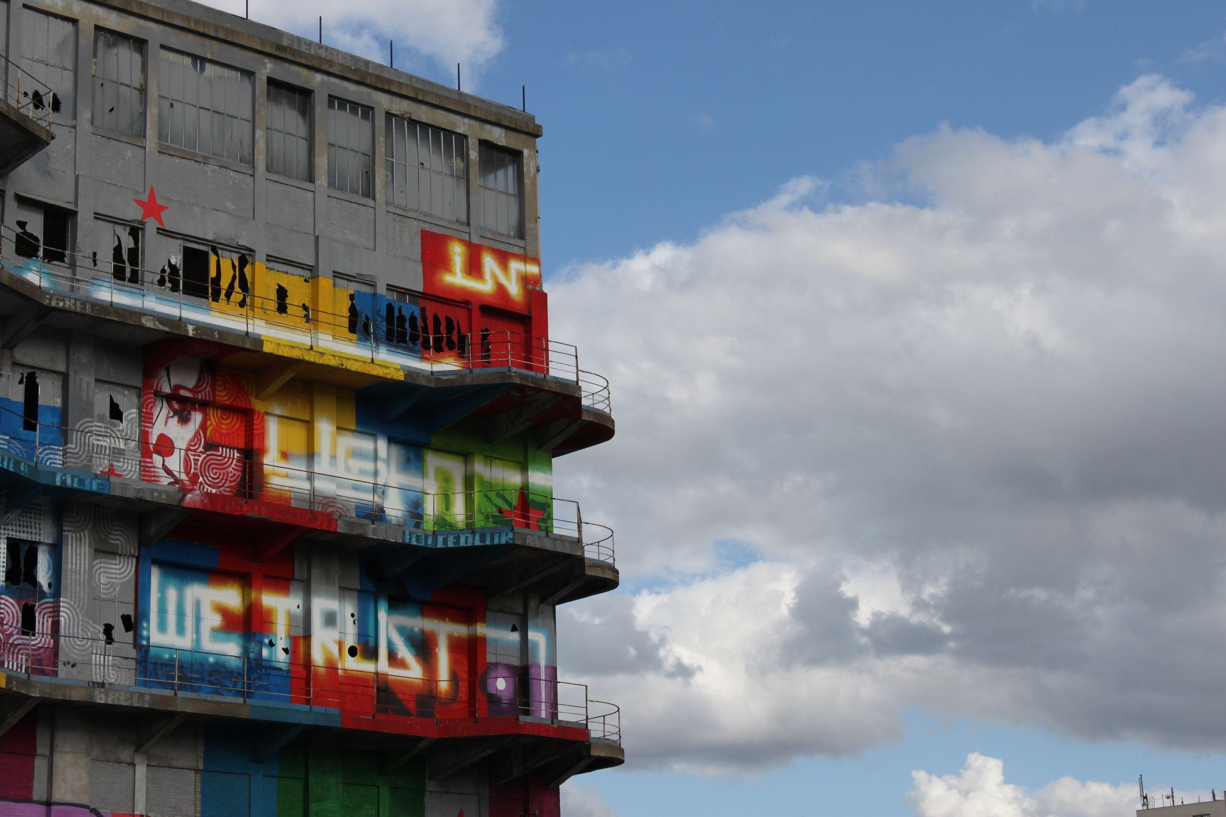 L'été du canal 2012 street art magasins généraux