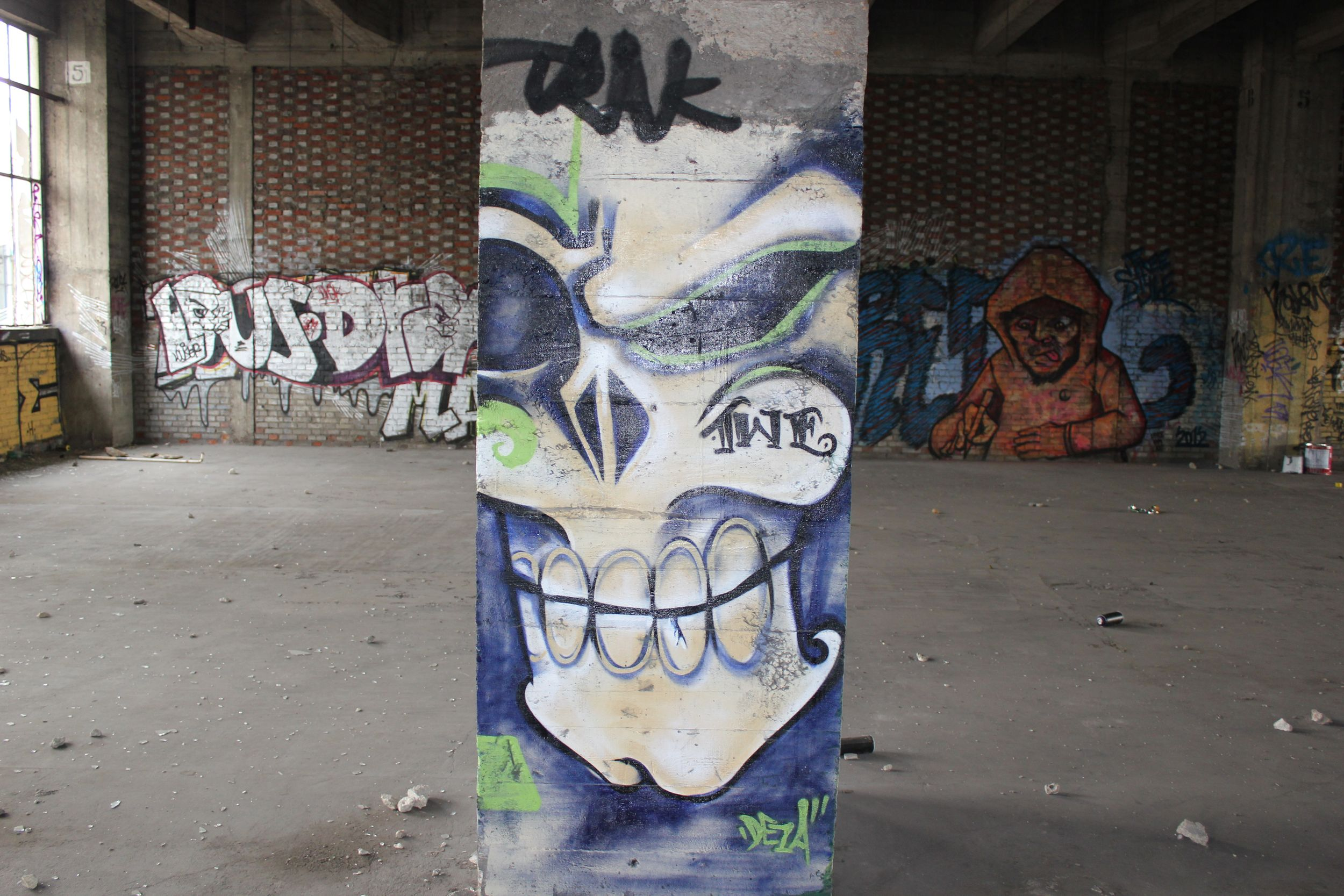 street art été du Canal 2012