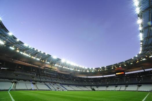Stade de France éclairage de nuit
