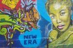 Street art in a Paris street