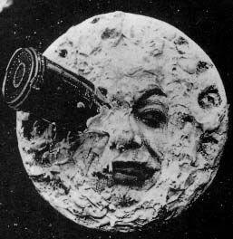 Affiche La lune de Mélies