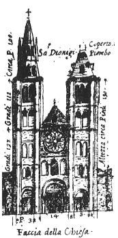 Basilique Saint-Denis en 1600