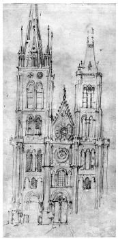 Basilique Saint-Denis en 1641